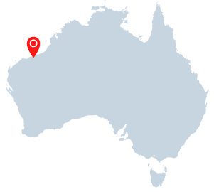 port hedland western australia map