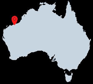 port hedland western australia map